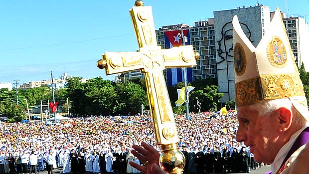 Papa Bento XVI celebra missa campal em Havana