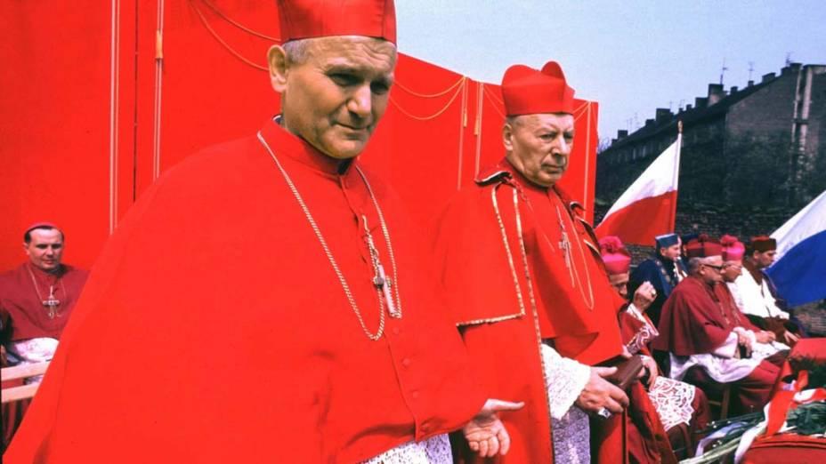 1970 – Cardeal Karol Wojtyla em Czestochowa, Polônia