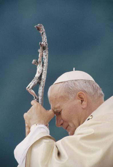 Papa João Paulo II na França