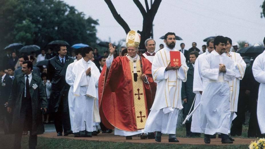 1988 – Papa João Paulo II no Paraguai