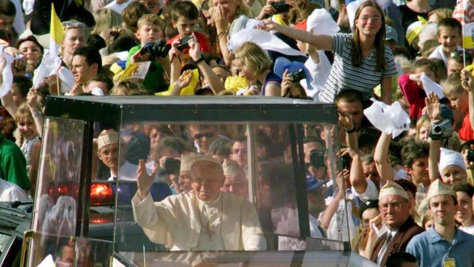 1999 - Papa João Paulo II na Polônia