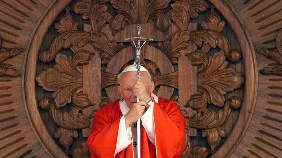 1999 - Papa João Paulo II na Polônia<br>