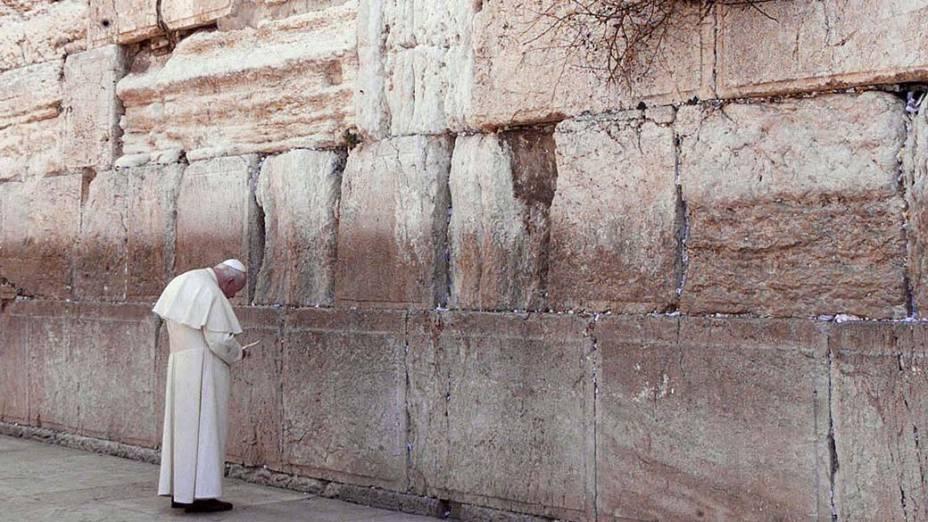 2000 – Papa João Paulo II em Jerusalém