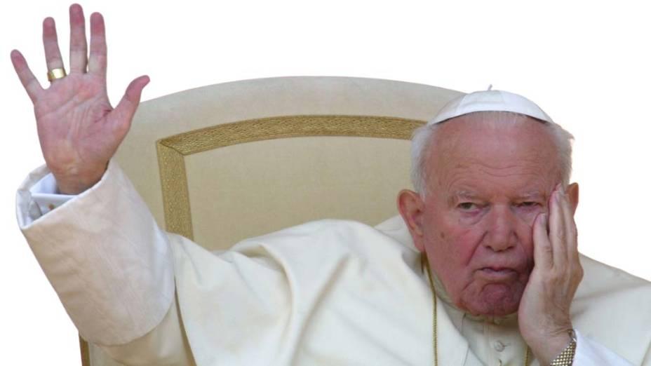 2003 – Papa João Paulo II no Vaticano