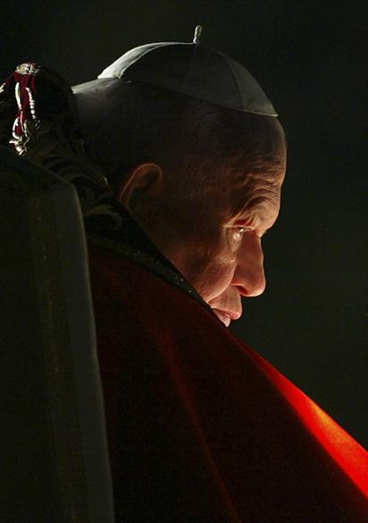 2003 – Papa João Paulo II na Itália