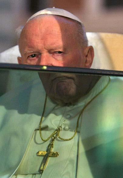 2004 – Papa João Paulo II em Roma