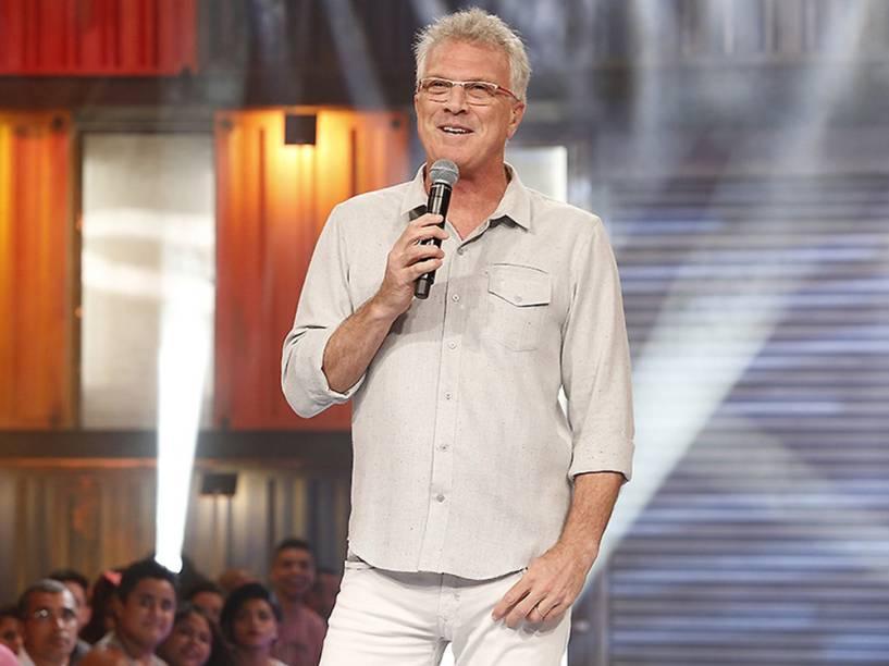 Pedro Bial, o apresentador do BBB