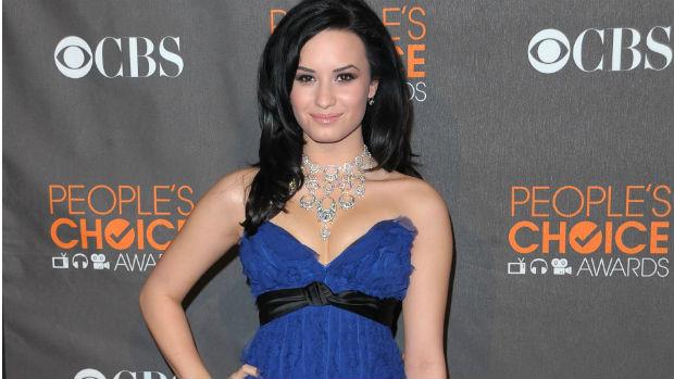 Demi Lovato no Peoples Choice Awards, em 2010