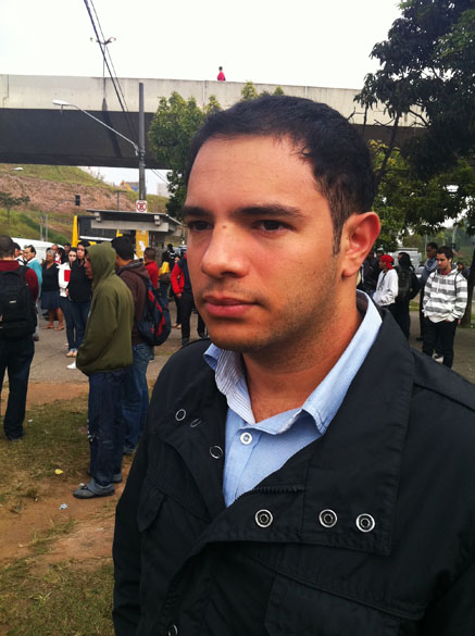 Diego Marcello, 23 anos, analista de sistemas