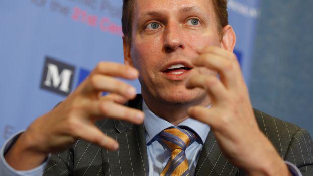Peter Thiel, cofundador do sistema Pay-Pal: parte dos papéis já foram negociados
