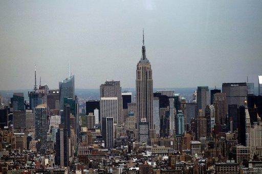 Imagem do Empire State Building em abril de 2012: um atirador feriu diversas pessoas perto do edifício de Nova York