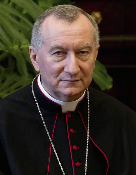 Monsenhor italiano Pietro Parolin, Arcebispo de Acquapendente, Secretário de Estado