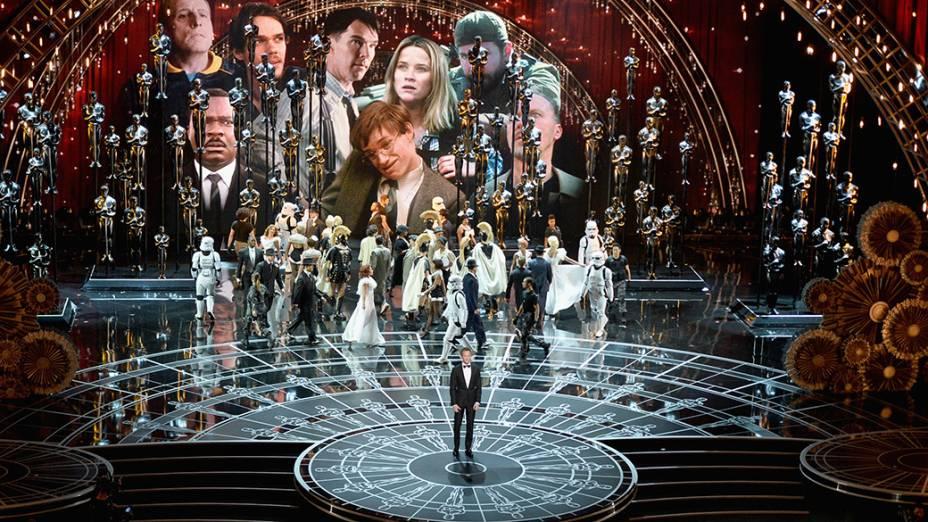 Abertura da cerimônia do Oscar 2015