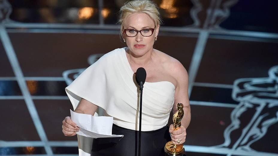 Patricia Arquette melhor atriz coadjuvante por Boyhood