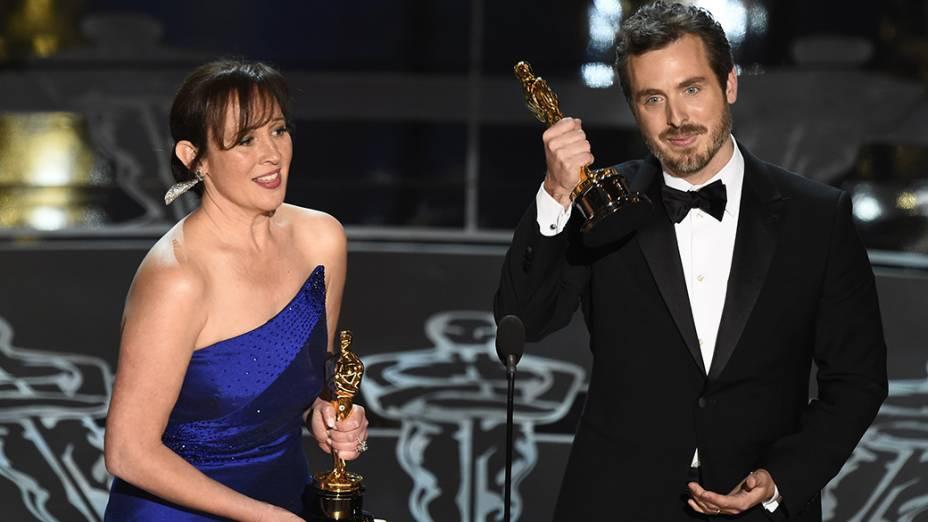 Kristina Reed e Patrick Osbourne vencedores na categoria melhor curta-metragem de animação por Feast