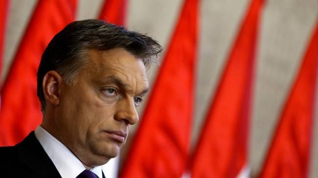 o premiê húngaro Viktor Orban