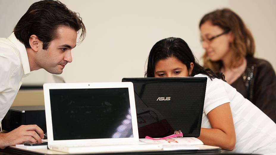 Finalistas do Prêmio Jovens Inspiradores, parceria entre VEJA.com e a Fundação Estudar, durante última etapa do concurso em São Paulo (2/12/2013)
