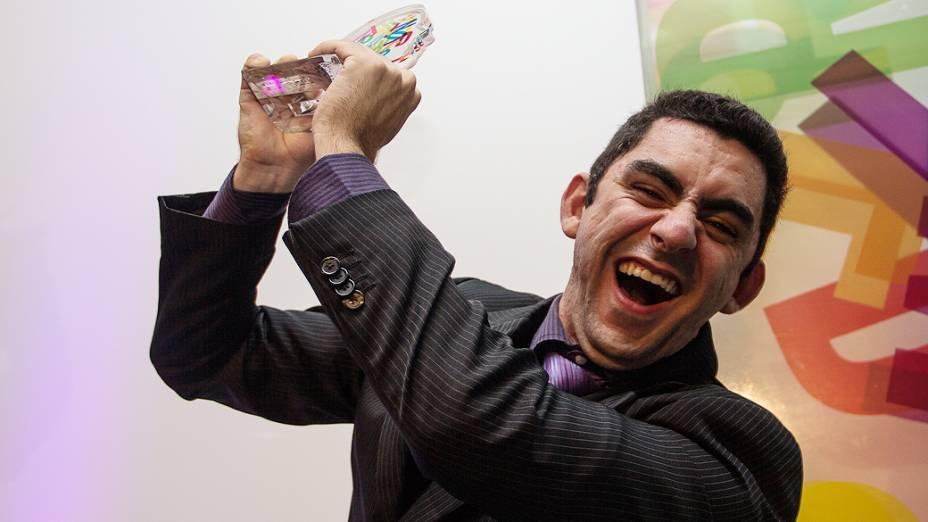 Felipe Machado foi um dos vencedores do Prêmio Jovens Inspiradores 2013