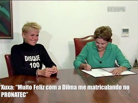 Xuxa participa do Pronatec