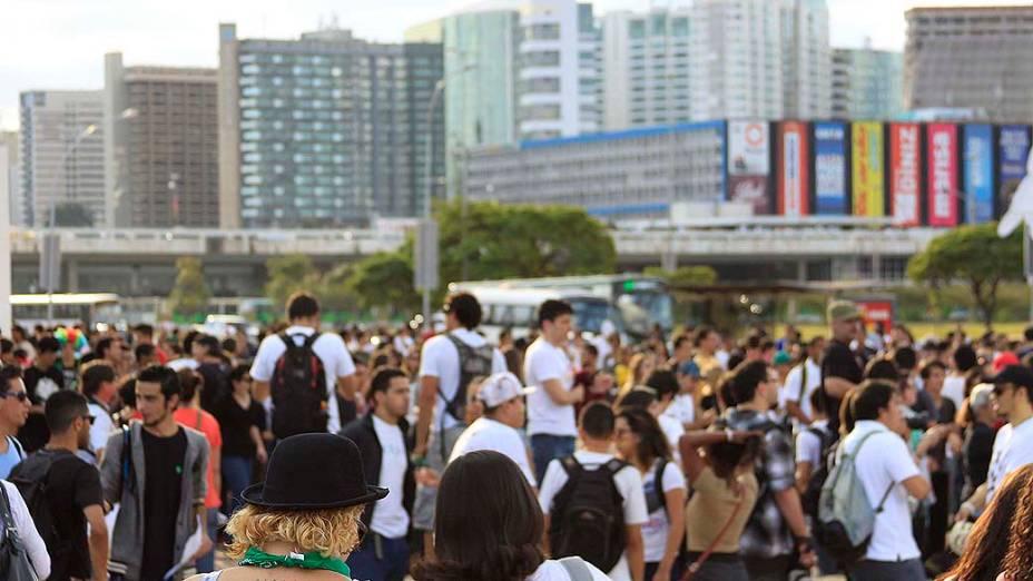 Belo Horizonte - Manifestantes re reúnem para protestar contra o aumento das passagens do transporte público