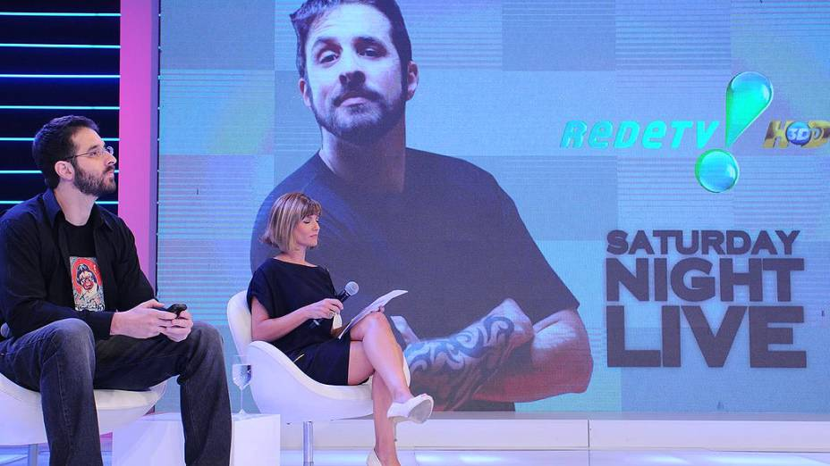 O humorista Rafinha Bastos vai apresentar o Saturday Night Live brasileiro na Rede TV!