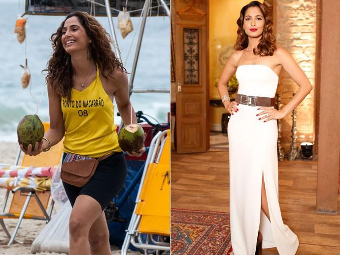 Regina (Camila Pitanga): do lixo ao luxo