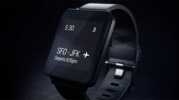 Relógio inteligente da LG, G Watch é um dos primeiros wearables com plataforma Android Wear