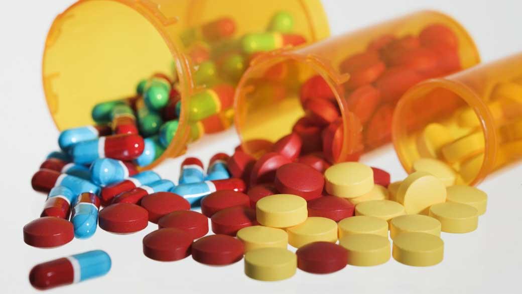 Pílulas de remédio