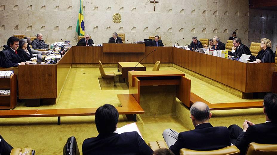 O ministro Ricardo Lewandowski, revisor do processo do mensalão no Supremo Tribunal Federal (STF)