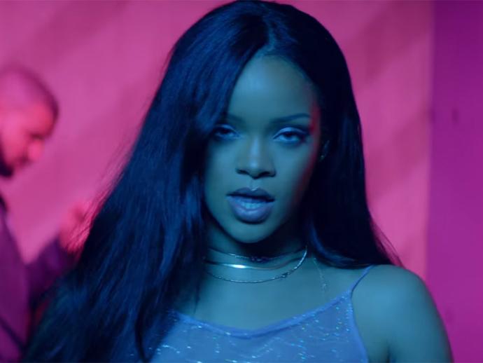 Rihanna no clipe de Work
