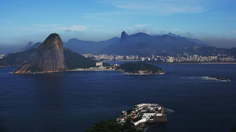 Vista geral da cidade do Rio de Janeiro
