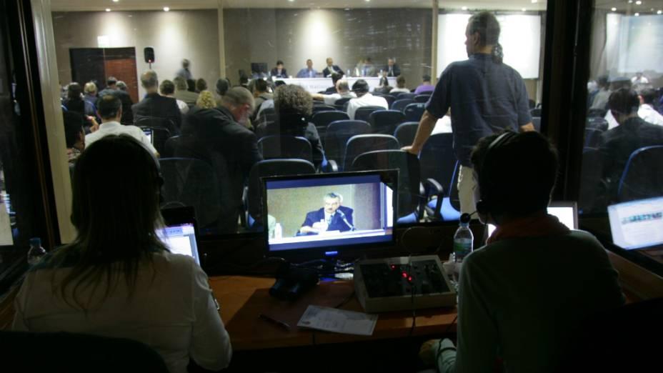 <p>Participantes da Rio+20 no Riocentro</p>