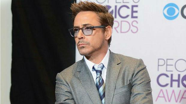 O ator Robert Downey Jr.