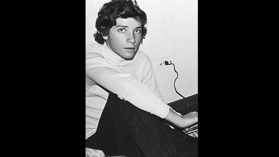 Roberto Justus quando tinha 15 anos