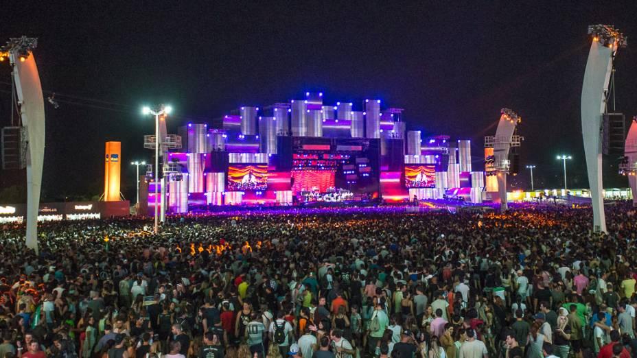 Movimentação do terceiro dia do Rock in Rio 2013