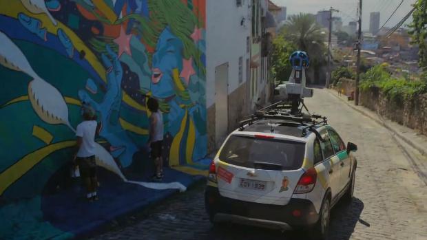 Ruas decoradas para a Copa do Mundo vão parar no Street View
