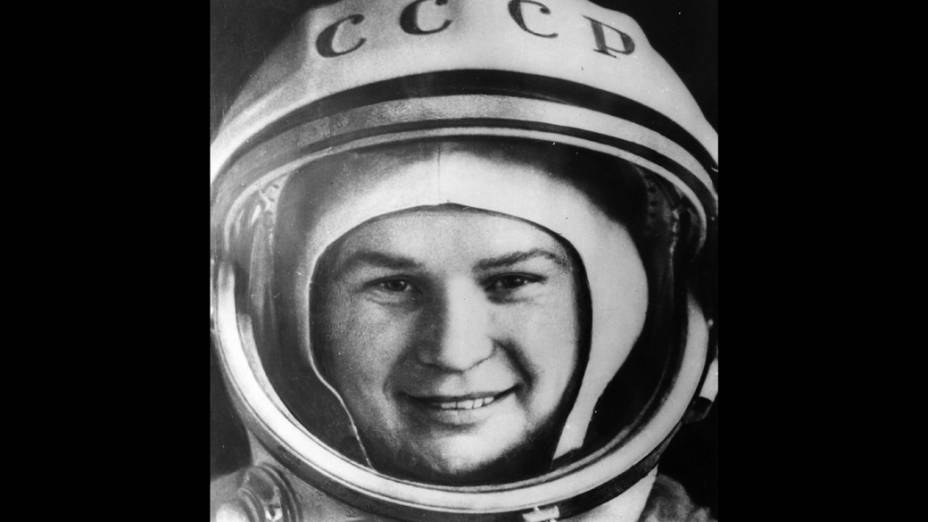 <p>Valentina Tereshkova  foi a primeira mulher a ir ao esapaço</p>