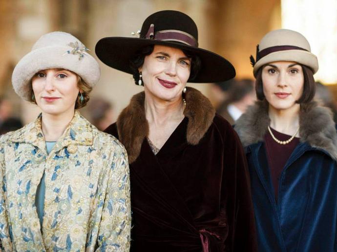 Elenco da série Downton Abbey