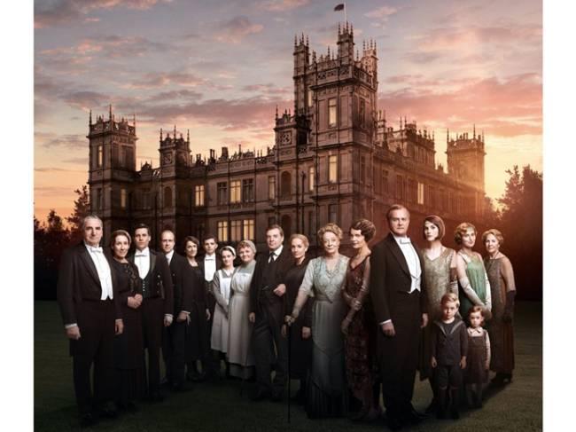 Elenco da série 'Downton Abbey'