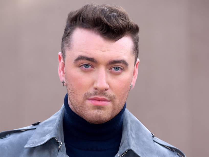 Sam Smith chega ao Londres Fashion Week 2015