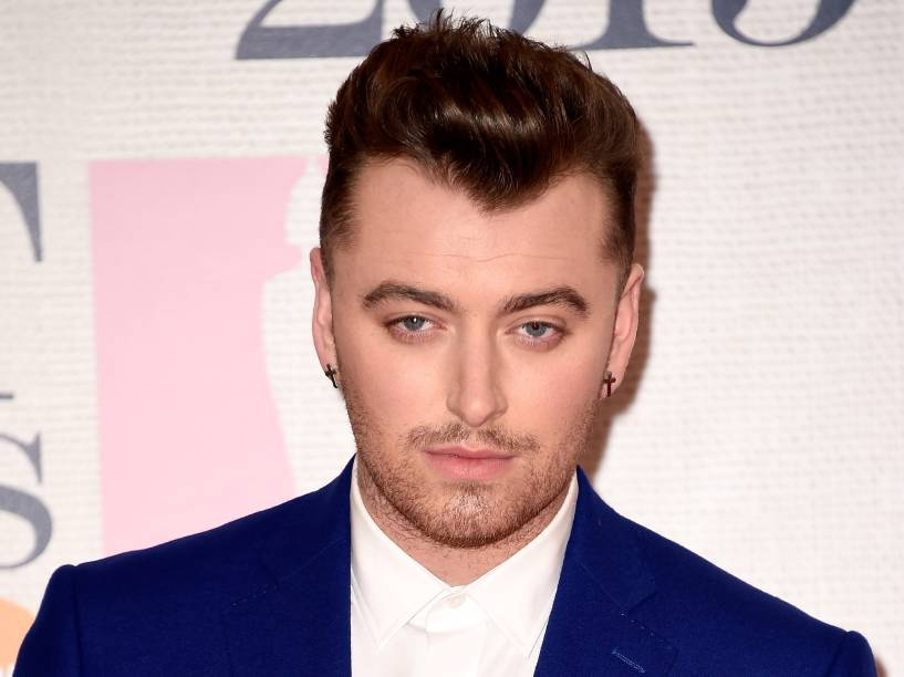 Sam Smith no BRIT Awards 2015