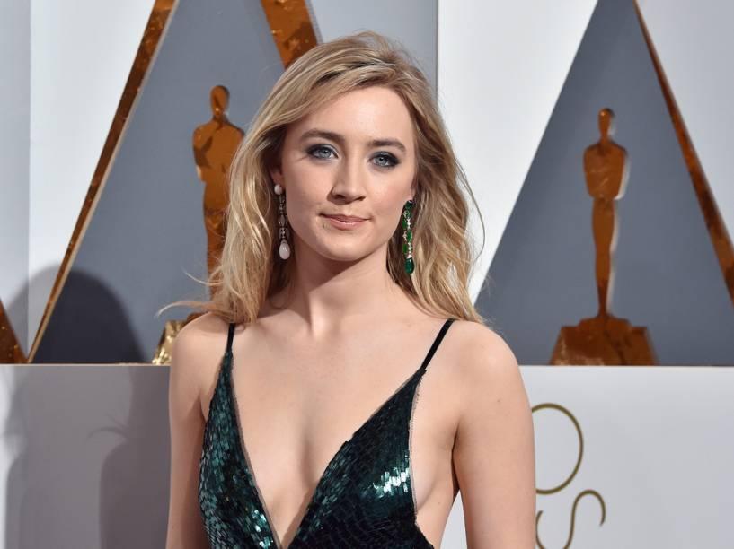 Saoirse Ronan no Oscar 2016