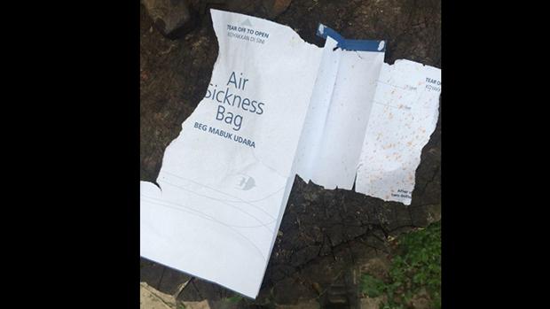 Destroços do avião da Malaysia Airlines