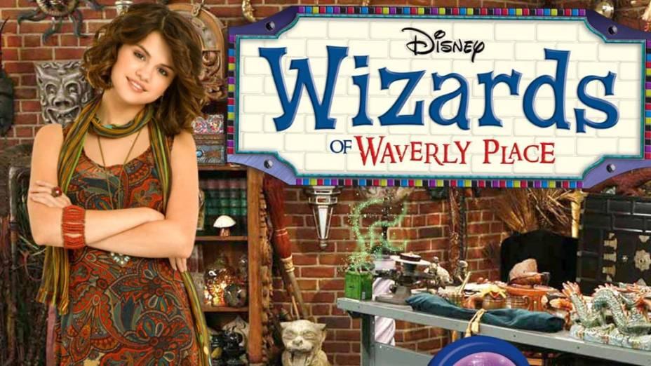 """Selena Gomez no programa """"Os Feiticeiros de Waverly Place"""" da Disney"""
