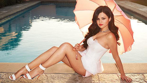 Selena Gomez em foto feita por Terry Richardson para a revista Harper's Bazaar