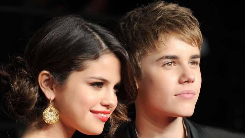 <p>Selena Gomez e Justin Bieber</p>