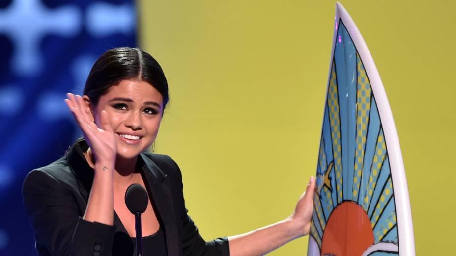 Selena Gomez no Teen Choice Awards 2014