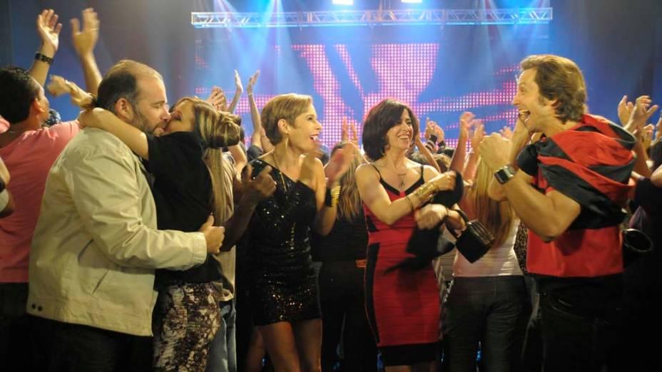 Cena do seriado Tapas e Beijos da Globo