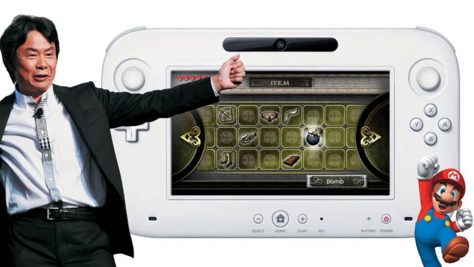 """Pop e Discreto: Shigeru Miyamoto e suas criações, Mario e o Wii U, híbrido de console e controle de jogo: """"Não me comparem a Disney"""""""