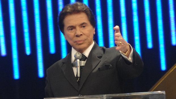 O apresentador de TV Silvio Santos